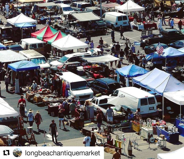 Did you know Long Beach has an awesome open-air flea market? On the third Sunday of every month you'll find spread out over 20 acres  millions of antiques collectibles and vintage items for sale at wholesale prices sold by almost 800 different dealers at Veteran's Stadium? Come experience a flea market with style!  : @longbeachantiquemarket  Find out more about Real Estate and life in the Long Beach area at: http://ift.tt/2jVDgDz  #longbeach #carson #cerritos #signalhill #torrance #lakewood…