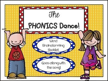 Love this to go with the Phonics Dance!