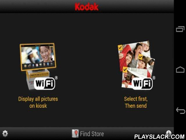 KODAK Kiosk Connect  Android App - playslack.com , Now available at CVS/pharmacy, Bartell Drugs in the U.S., Officeworks in Australia, and selected Boots, Tesco and KODAK Express Stores in the UK. Wirelessly print your pictures from your ANDROID Device to a KODAK Picture Kiosk. Wirelessly transfer and print those fun, spontaneous everyday moments from your ANDROIDSmartphone or tablet to a KODAK Picture Kiosk and share your memories. It's fast, easy and convenient.Check with retailer in your…