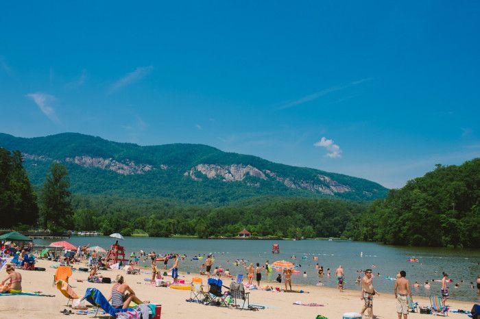 Day trips in NC 9. Take a dip at one of our many gorgeous lakes
