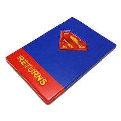 3D Superman Passport Holder