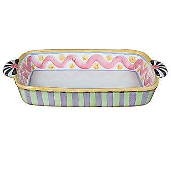 MacKenzie-Childs Picadilly Baking Dish from Borsheims