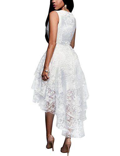 Classic Sleeveless Multi Layer High Low Bridal Crossdresser Wedding Dress (Plus Sizes)