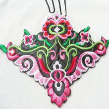 19 * 13 cm bricolage tissu repassage attaché fleur applique oiseaux de bande dessinée de danse vêtements Patch broderie ethnique correctif autocollants(China (Mainland))