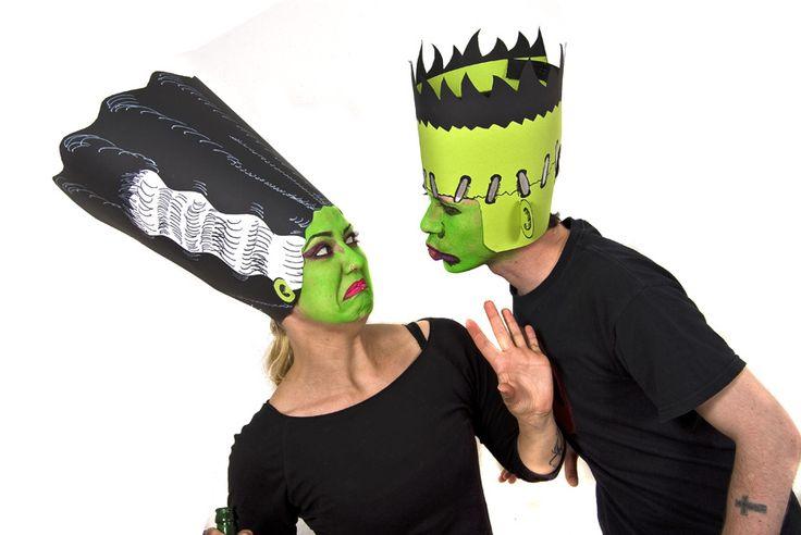 Halloween Verkleidungstipp: Franksteins Monster und seine Braut - Halloween.de