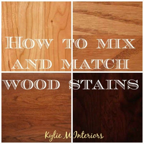 how to mix and match wood stains and types including oak, cherry, maple and more. including undertones for flooring, cabinets and more