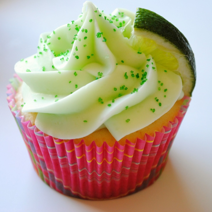 #Margarita Cupcakes - now there's a cupcake we can love!