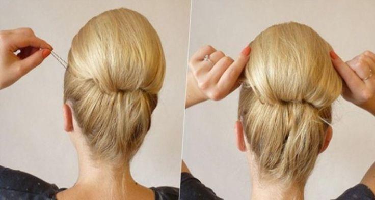 Также причёски для волос средней длины можно делать с помощью стиля ретро…