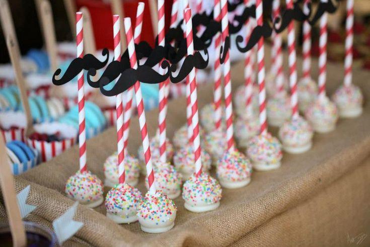 VINTAGE CIRCUS THEME BIRTHDAY PARTY