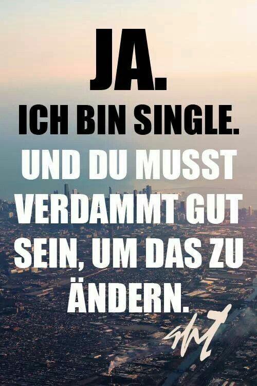 Single sein ist glücklich
