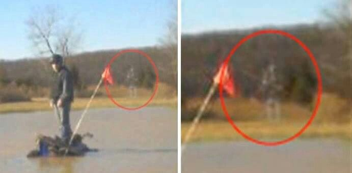 The spirit of a Civil War soldier appeared and was caught on film.