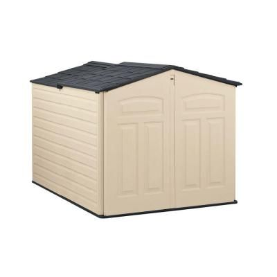 Rubbermaid 6 ft x 4 ft Slide Lid Shed