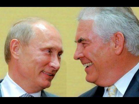 Rex Tillerson Sergey Lavrov Vladimir Putin Joint Press Conference 4/12/2...