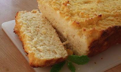 Coconut Flour Grapefruit Pound Cake
