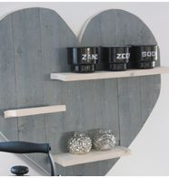 Maak zelf een hart van steigerhout