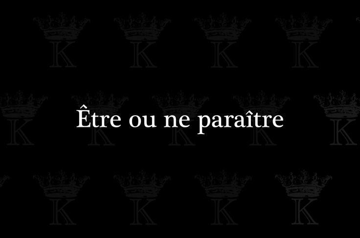Être ou ne paraître (by spleennn)