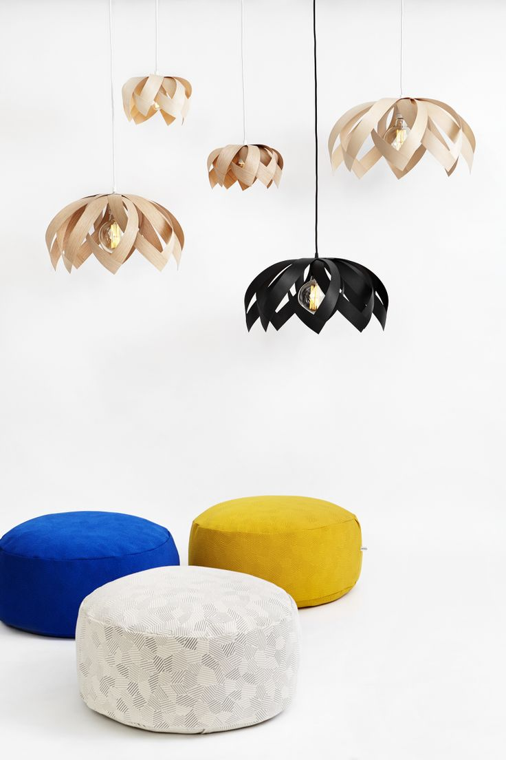 LOTUS collection and KONTRAST poufs by Yndlingsting.