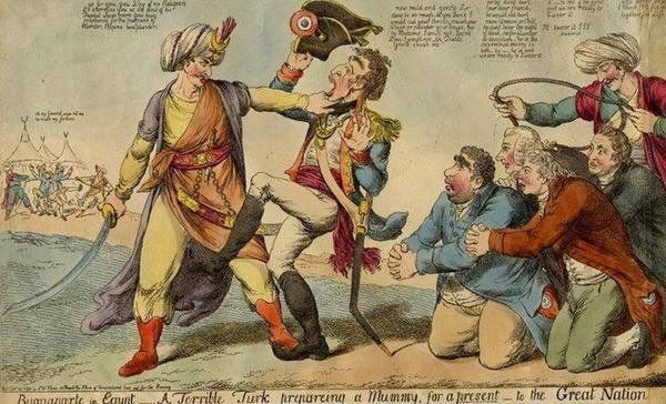 Napolyon, Akka yenilgisinin ardından savaş meydanını Cezzar Ahmed Paşa yönetimindeki Osmanlı kuvvetlerine bıraktı.. 1799 #OsmanlıDevleti