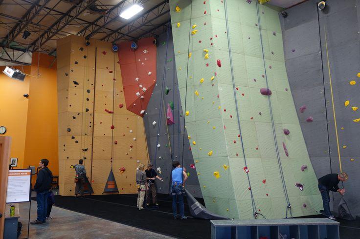 Redmond Vertical World - climbing walls by Elevate Climbing Walls