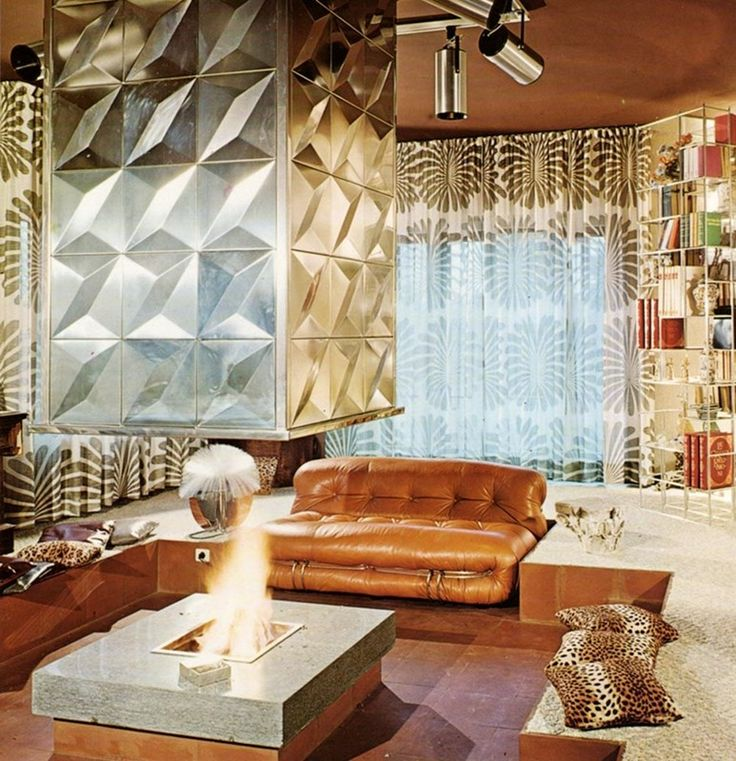 Weird And Wonderful Retro Fireplaces Futuristic DesignDesign HistoryExterior