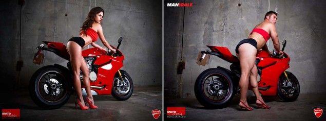 Photos: seDUCATIve vs. MANigale MotoCorsa seDUCATIve MANigale photo comparison 02 635x237