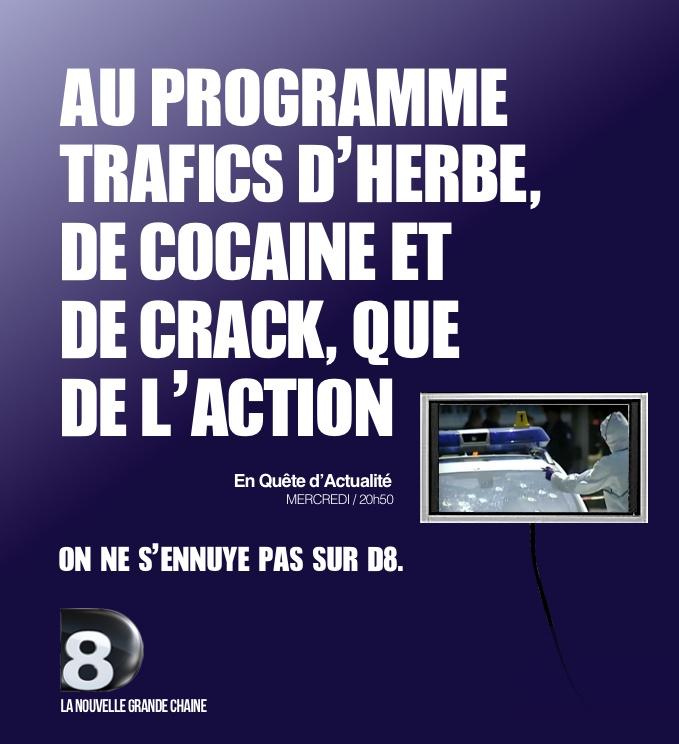 La nouvelle campagne France 3 parodiée par D8