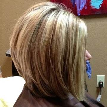 Image result for Stacked Bob Haircut Back View                                                                                                                                                                                 More