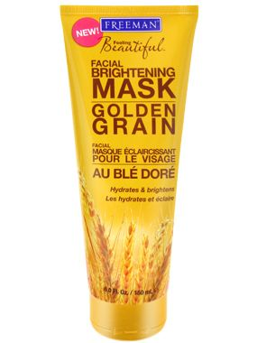 Freeman Beauty Golden Grain Facial Brightening Mask