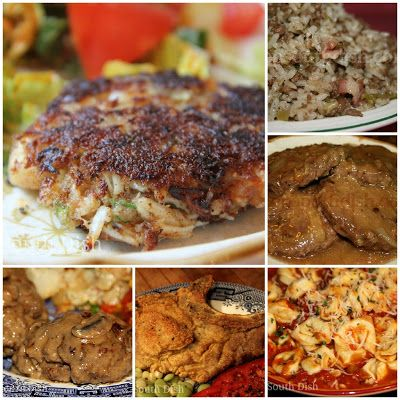 Main Dish Skillet and Stovetop Meals from Deep South Dish