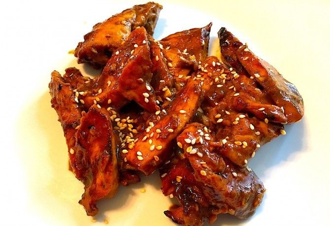 Teriyaki csirkemell recept képpel. Hozzávalók és az elkészítés részletes leírása. A teriyaki csirkemell elkészítési ideje: 25 perc