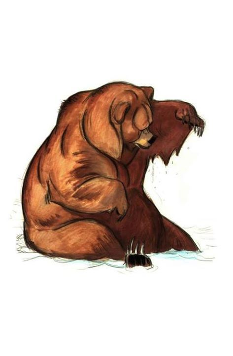 """Brother Bear"" by Rune Brandt Bennicke-Character Design. Walt Disney Animation Studios"