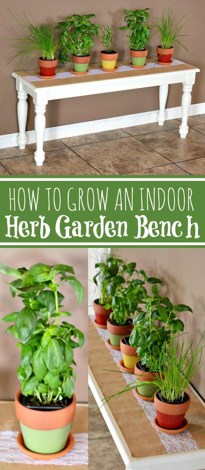 Potted Herb Garden Ideas stunning tidy garden ideas for flower beds flower garden ideas How To Grow An Indoor Potted Herb Garden Bench Diy