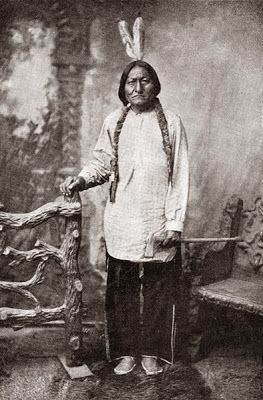 Sitting Bull, Famous Lakota Sioux Indian Chief