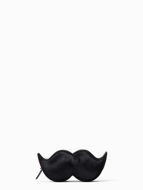 double duty: this three-dimensional mustache is the perfect socail media prop…and a great place to store your spare change!
