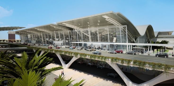 Hamad International Airport Passenger Terminal Complex in Doha, Qatar by HOK