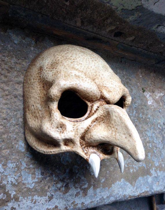 Nosferatu Vampire Mask by Piratemask on Etsy, $77.00