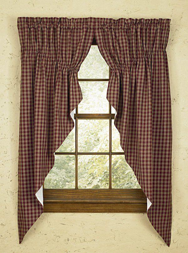 Die besten 25+ Gardinen für kleine fenster Ideen auf Pinterest - gardinen muster für wohnzimmer