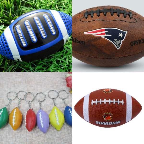 Mini Soft Pu Foam American Football Ball Standard Rugby Anti
