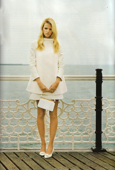 Lara Stone by Alasdair McLellan for Vogue UK