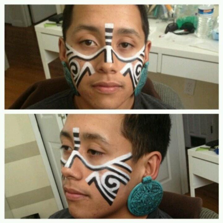 Mayan makeup