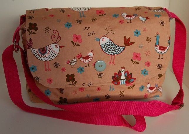 Bird print handbag £25.00