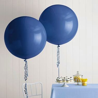17 inch Big Round Balloon - Pick Your Colour - Wedding & Event Supplies - Photo Prop