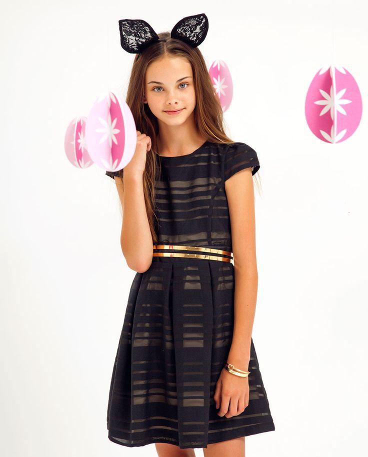 Girl's Ladder Dress - Bardot Junior