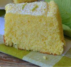 Limonlu damla sakızlı kek