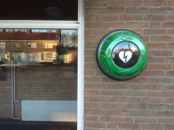 Rotaid Solid Plus Heat - Local Government @HartslagNu @GemeenteNOP #burgerhulpverlening #aed #cabinet #green