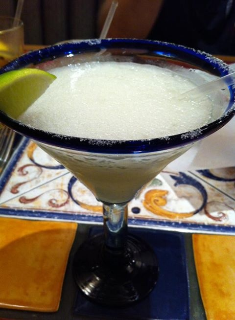 It's Hot Outside! Try our Oasis Margaritas! Specials going on now! (Picture by: Bertha MacMillan.)