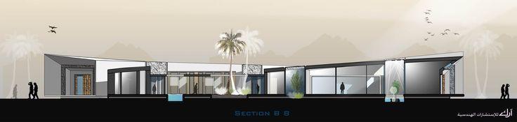 ARK - KASSAM | Architectural & Engineering Consultations | Projects | Alkhozama Desert House  in Saudi Arabia