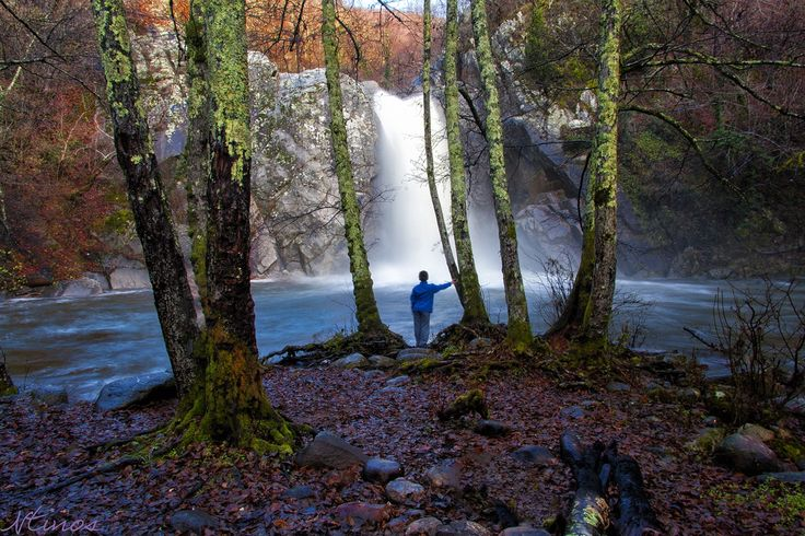 Visit Greece | Agia Varvara waterfalls Drama #greece  by Ntinos Lagos on 500px #visitgreece #greece