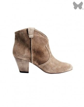 Ash Jalouse Boots - Taupe #boots #ash #ankleboots