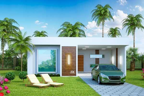 Plano de casa grande con piscina de estilo mediterráneo